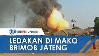 Gudang Temuan Masyarakat Markas Brimob Srondol Meledak, Satu Anggota Brimob Terluka