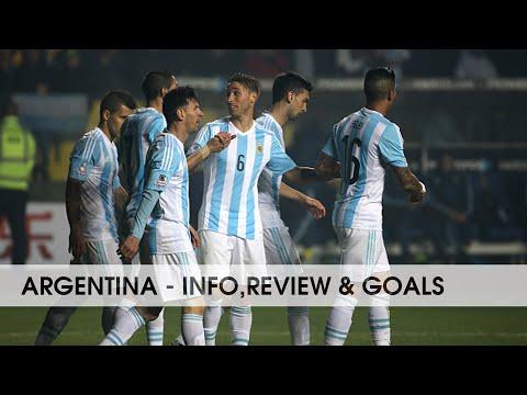 ARGENTINA ● National Football Team    Info,review & goals    2015-2016    HD