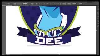 Male Valkyrie Mascot Logo - Dee