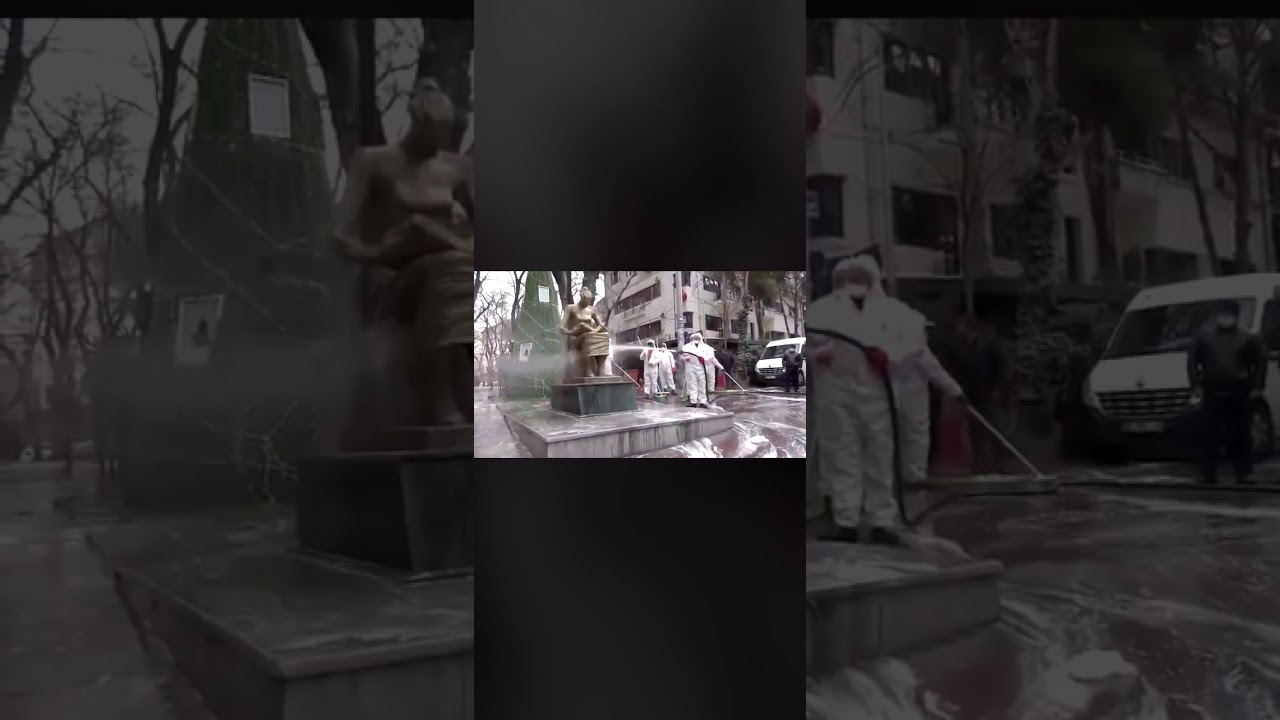 Korona Virüs Temizlik çalışması Türkiye