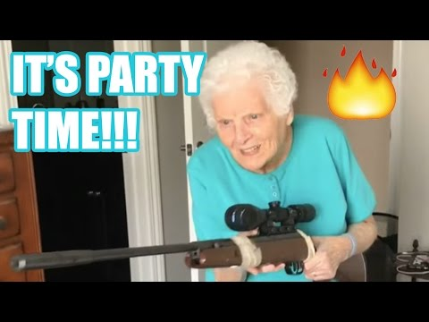 PARTYING WITH GRANDMA!!