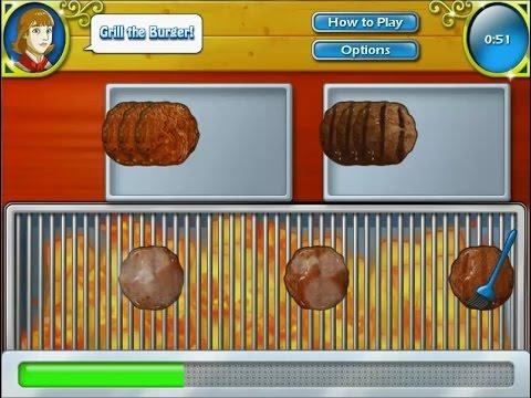 เกมส์ทำอาหาร เบอร์เกอร์เนื้อเทอริยากิ - Teriyaki Burgers Cooking Game 데리야끼 버거,バーガー,照り焼きバーガー,햄버거