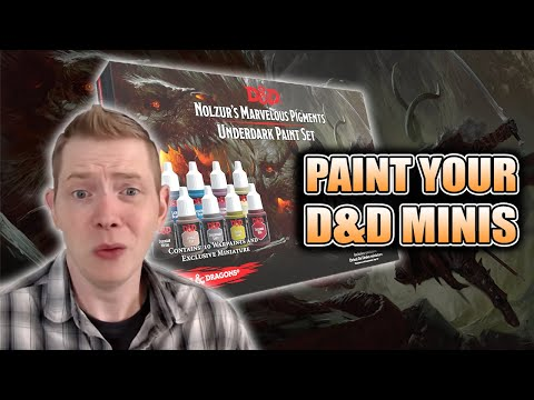 How To Use Army Painter D&D Miniatures Underdark Paints: Review