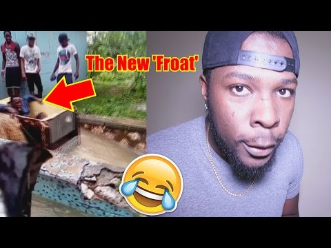 Jamaican Man Shows Another Use For Your Fridge During Flood!