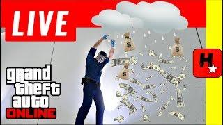 GTA V MONEY GLITCH - *Chuva de Dinnheiro* *MONEY Drop* (GTA 5 solo MONEY glitch na descrição)