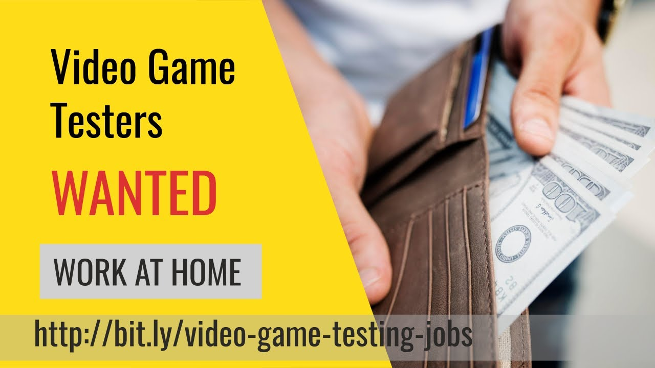 Video Game Tester Jobs At Home Get Paid 2018