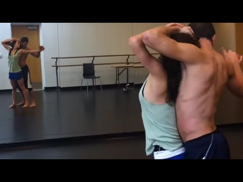 Step Up Revolution Rehearsal  Ryan Guzman & Kathryn McCormick