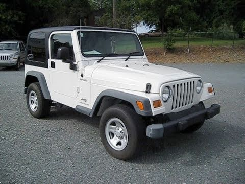 Wonderful 2006 Jeep Wrangler Right Hand Drive Start Up, Engine, And In Depth Tour    YouTube