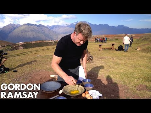 Gordon Ramsay Makes Alpaca Scrambled Eggs in Peru | Scrambled