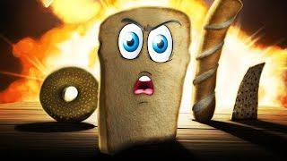 - Я ЕСТЬ ХЛЕБ ПРИКЛЮЧЕНИЯ ХЛЕБУШКА Прикольная мульт игра для детей I am Bread