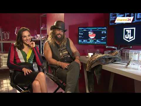 Gal Gadot (Wonder Woman) and Jason Momoa (Aquaman) talk to Channel24 about The Justice League
