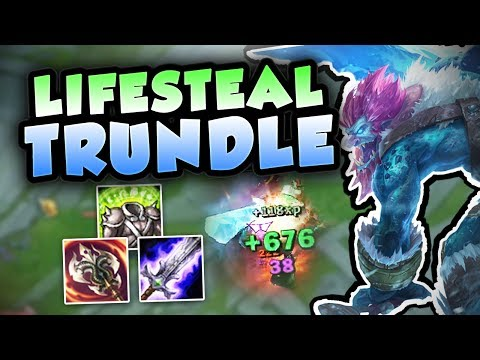 CAN ANYONE HOLD BACK THIS FULL LIFESTEAL TRUNDLE? NEW OP TRU