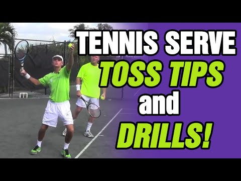 Tennis Serve Toss Tips and Drills