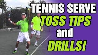 Tennis Serve - Toss Is The Most Important Part by TomAveryTennis.com