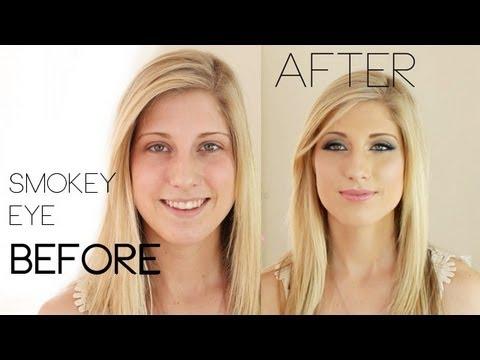 Prom Perfect (or wedding) Smokey Eye Make-Up Tutorial