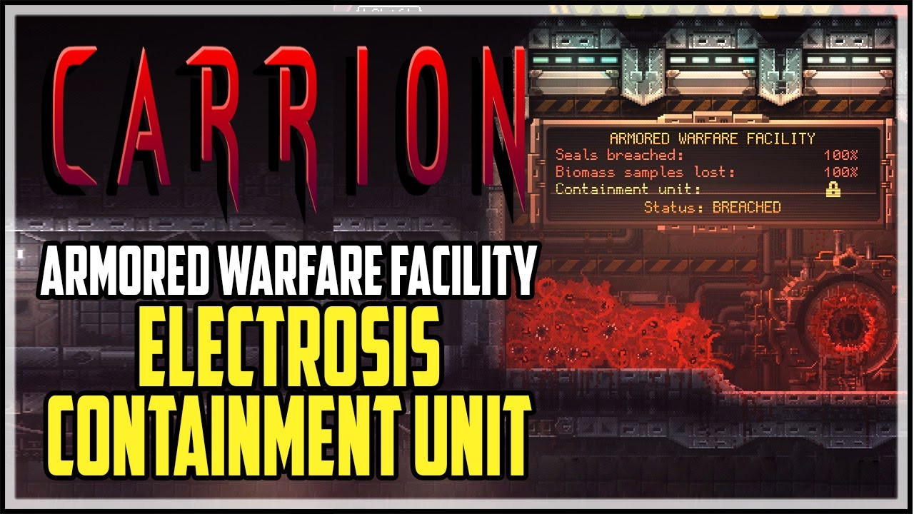 Carrion Armored Warfare Facility Containment Unit Location Youtube