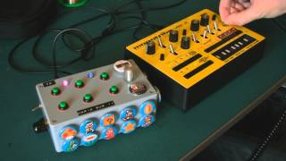 Circuit Bent Mario Dub II with Monotribe by freeform delusion