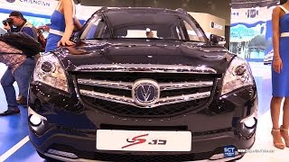 2016 Changan CS 35 Blue Core - Exterior and Interior Walkaround - 2016 Moscow Automobile Salon