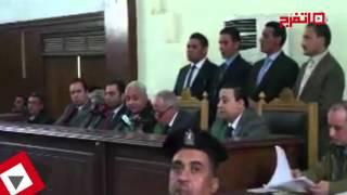 لحظة الحكم على سيد مشاغب بالحبس لمدة سنة (اتفرج)
