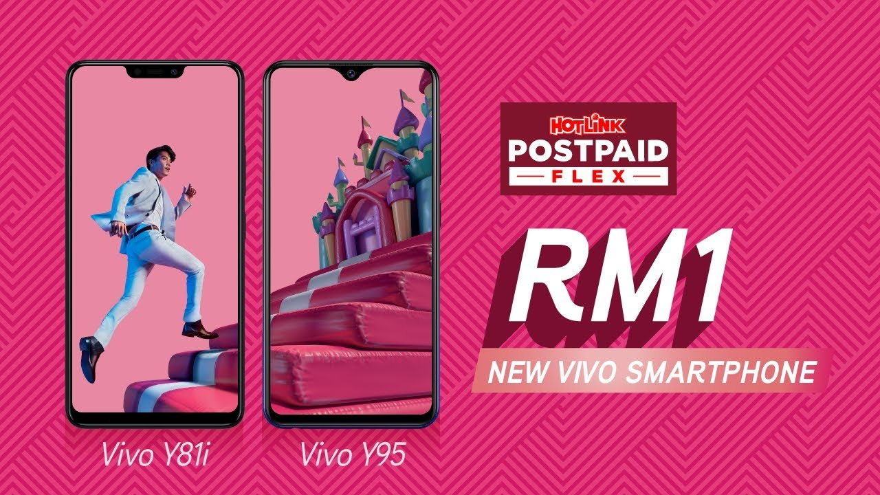 RM1 Vivo Smartphone with Hotlink Postpaid Flex