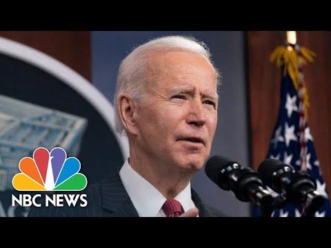 Biden Speaks To National Institutes Of Health Staff | NBC News