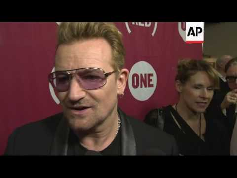 Bono Praises US Response to AIDS