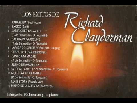 Los exitos de Richard Clayderman