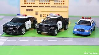 Мультик про машинки - 188 серия:  Полицейская погоня, Гоночная машина. Мультик для детей.