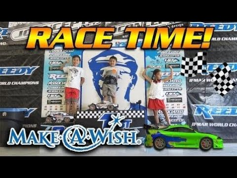 RC CAR DEMOLITION!!! Make-A-Wish for Caden at OC RC RACEWAY!
