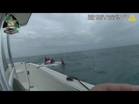 Sheriff, Coast Guard rescue 5 from capsized boat