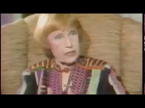 Lotte Lenya, 1979 TV Interview, Schuyler Chapin
