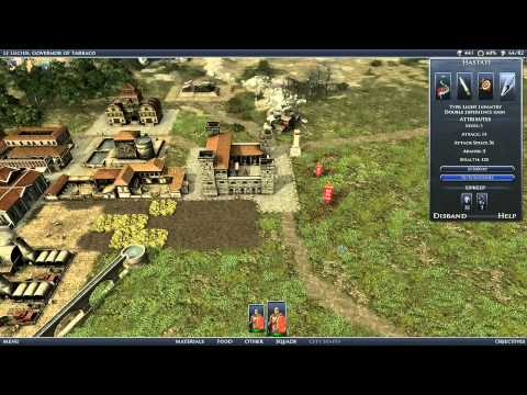 Grand Ages: Rome - геймплей