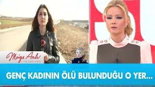 Genç kadının ölü bulunduğu  yerden canlı yayın - Müge Anlı ile Tatlı Sert 12 Şubat 2019