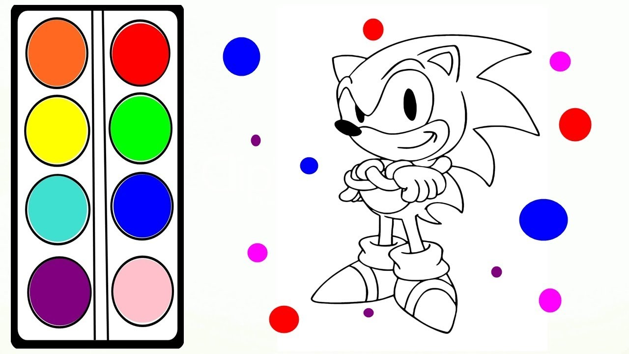 SONIC BOOM Coloring Pages for Kids // Art Colors for ...