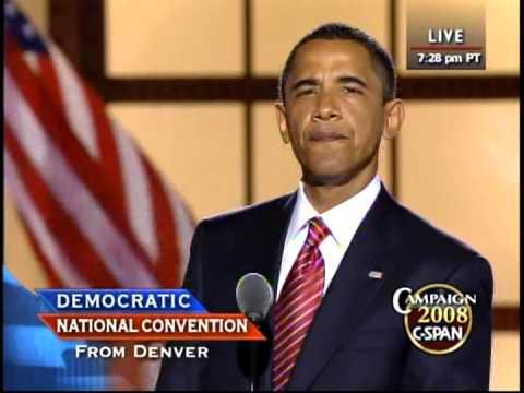 Barack Obama's Speech - 2008 Democratic National Convention