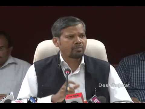 Election Commission of India's press briefing in Ahmedabad, Gujarat