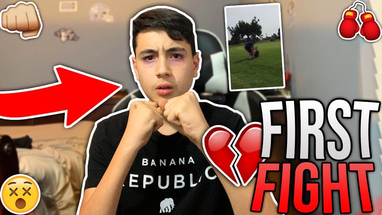 MY FIRST FIGHT! 👊 *STORY TIME*