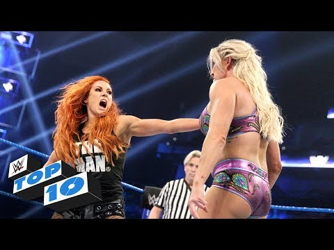 Top 10 SmackDown Live moments: WWE Top 10, January 8, 2019
