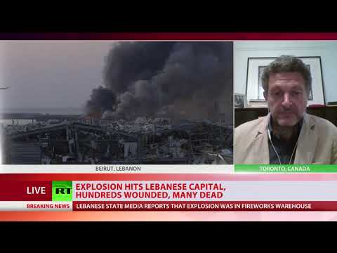 Beirut Blast | The explosion only added to the chaos that's been grappling Beirut, analyst tells RT