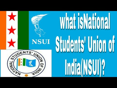 what is National Students' Union of India(NSUI)?