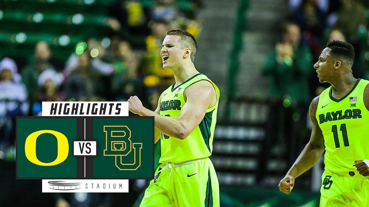 877d28fdb593 Oregon vs. Baylor Basketball Highlights (2018-19)