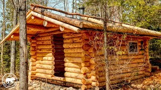 the-off-grid-log-cabin-sauna-wood-floor-and-what-s-the-roof-frame-for
