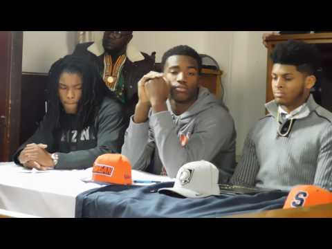 St. Frances football signing day ceremony 02/01/17