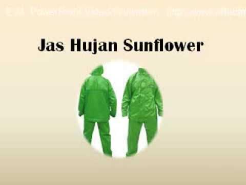 Jas Hujan Sunflower