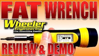 Wheeler FAT Wrench - Torque Screwdriver - Review and Demo