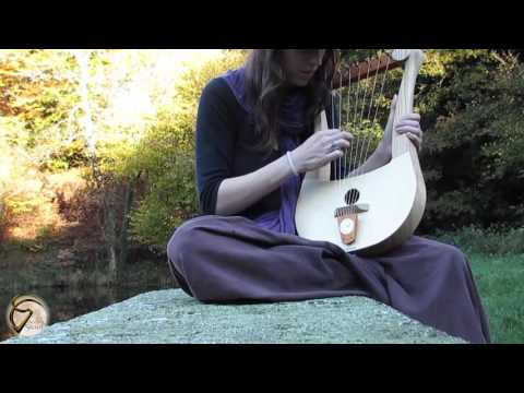 the song of times | Lyre Gauloise - Tan - Atelier Skald |