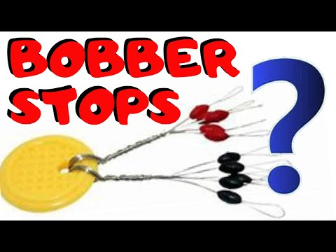 How To And When To Use A Bobber Stop / Peg A Weight