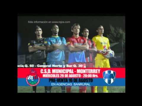 video promocional Municipal Monterrey