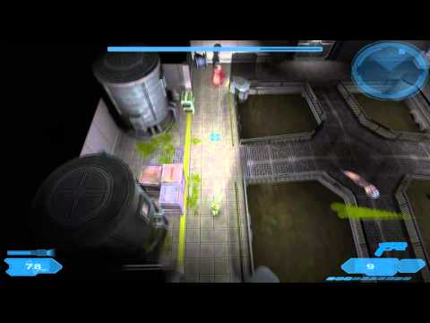 """Let's Play Shadowgrounds Level 2 Part 2 """"The Water Treatment Facility"""" (Hard) 