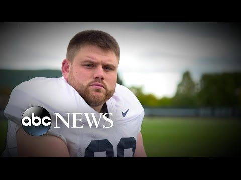 College Football Star Opens Up About Binge-Eating Disorder